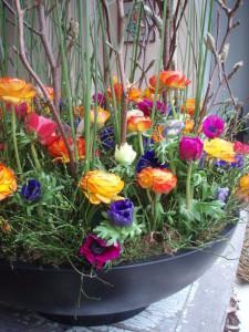 De bloemen van Galerie Moen maken het helemaal af!